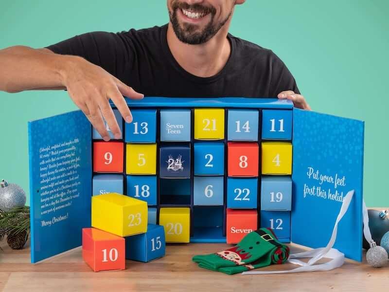 strumpkalender för män 2020