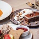 Leverans av lyxig nyårsmat från restauranger