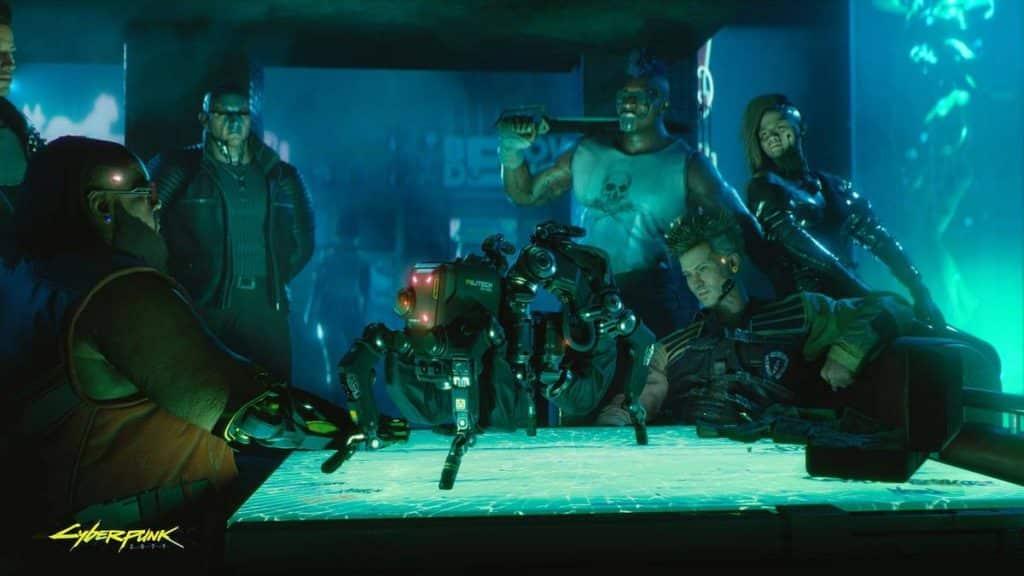 cyberpunk 2077 spel playstation