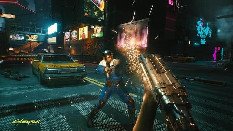 cyberpunk 2077 konsolspel