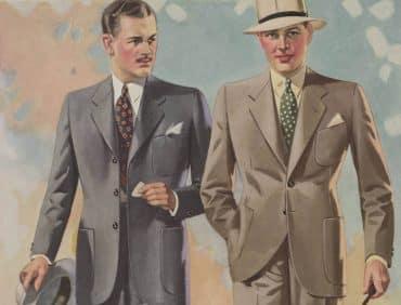 herrmode 1930-tal
