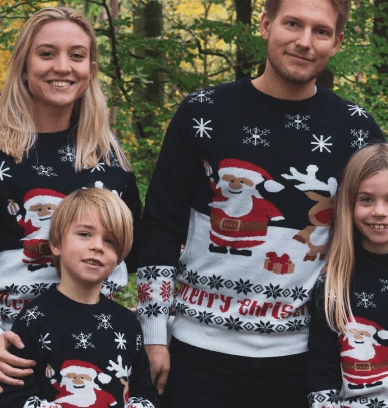 jultröjor till hela familjen