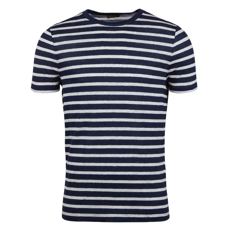 t-shirt i linnetyg sommarmode 2021