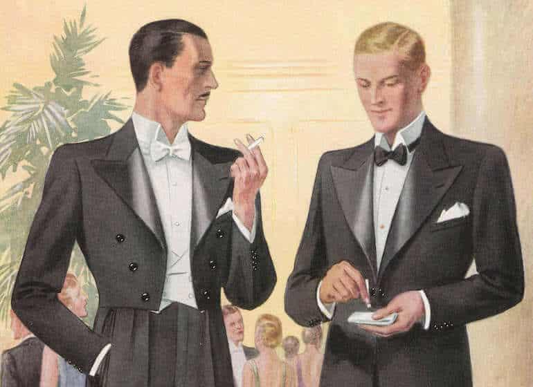 stilregler för män