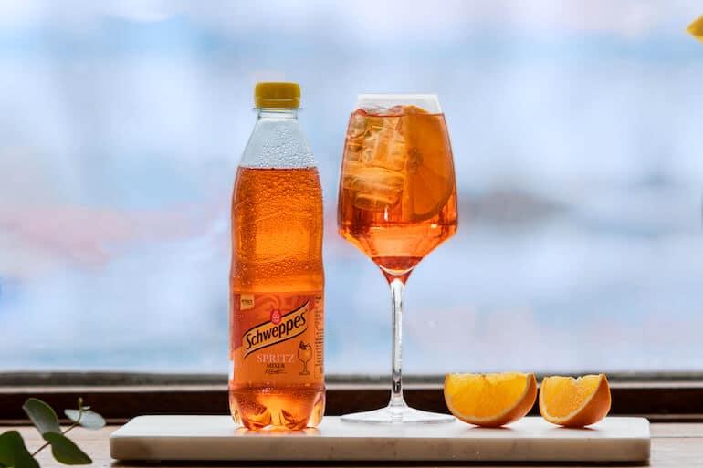 schweppes spritz mixer drinknyhet 2021