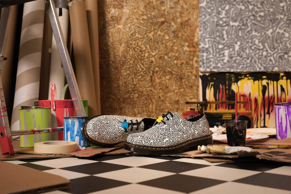 dr martens keith haring collection