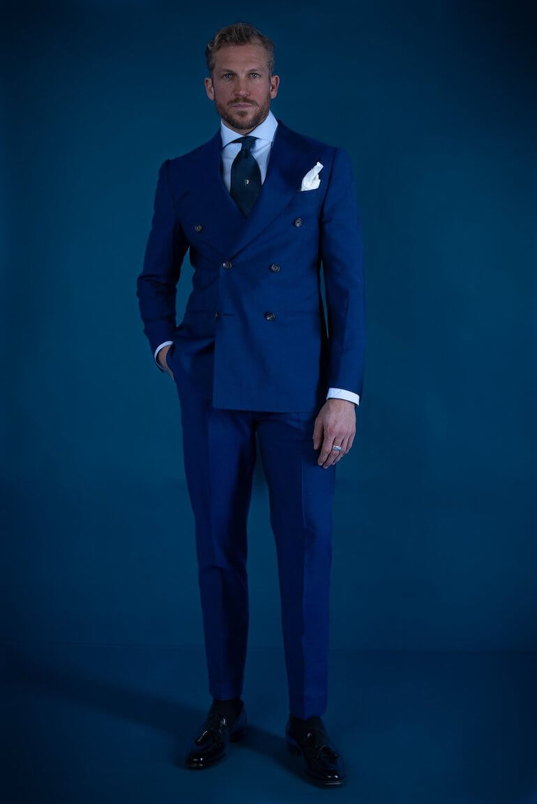 italienskt mode för män