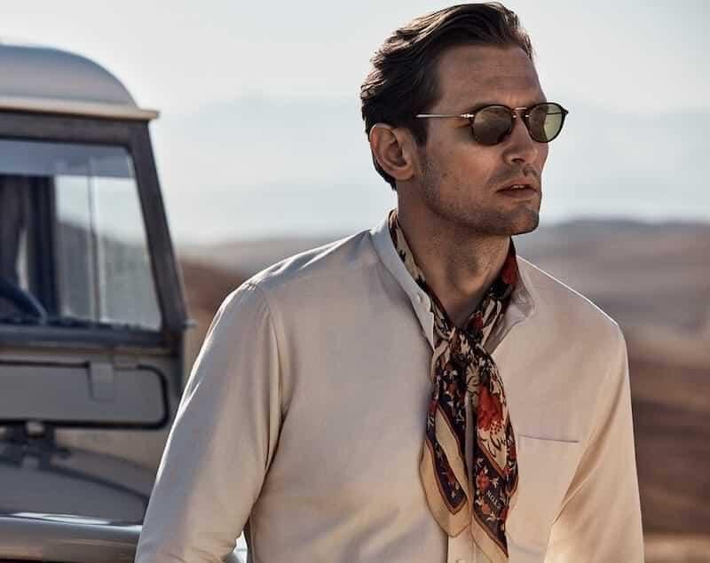hur du bär scarf på sommaren 2021