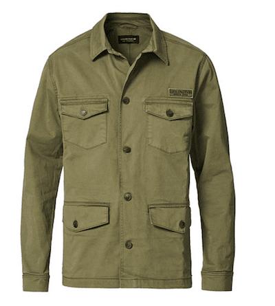 snygga field jackets för män