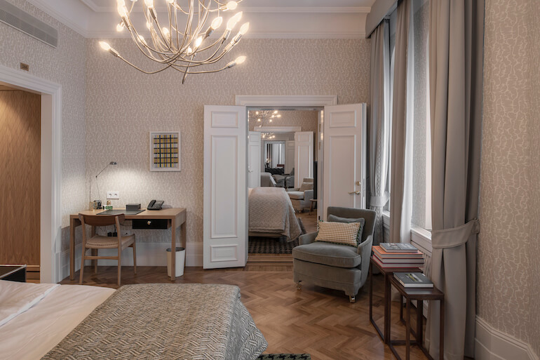 Executive svit Bolinderska Palatset grand hotel 2021