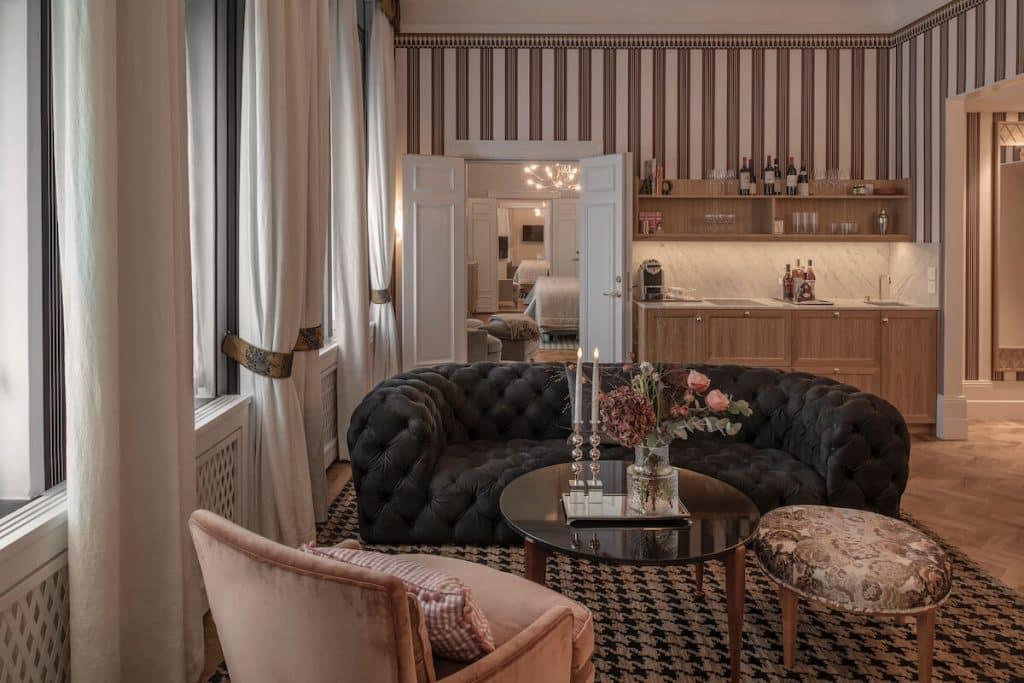 nya sviter på grand hotel 2021