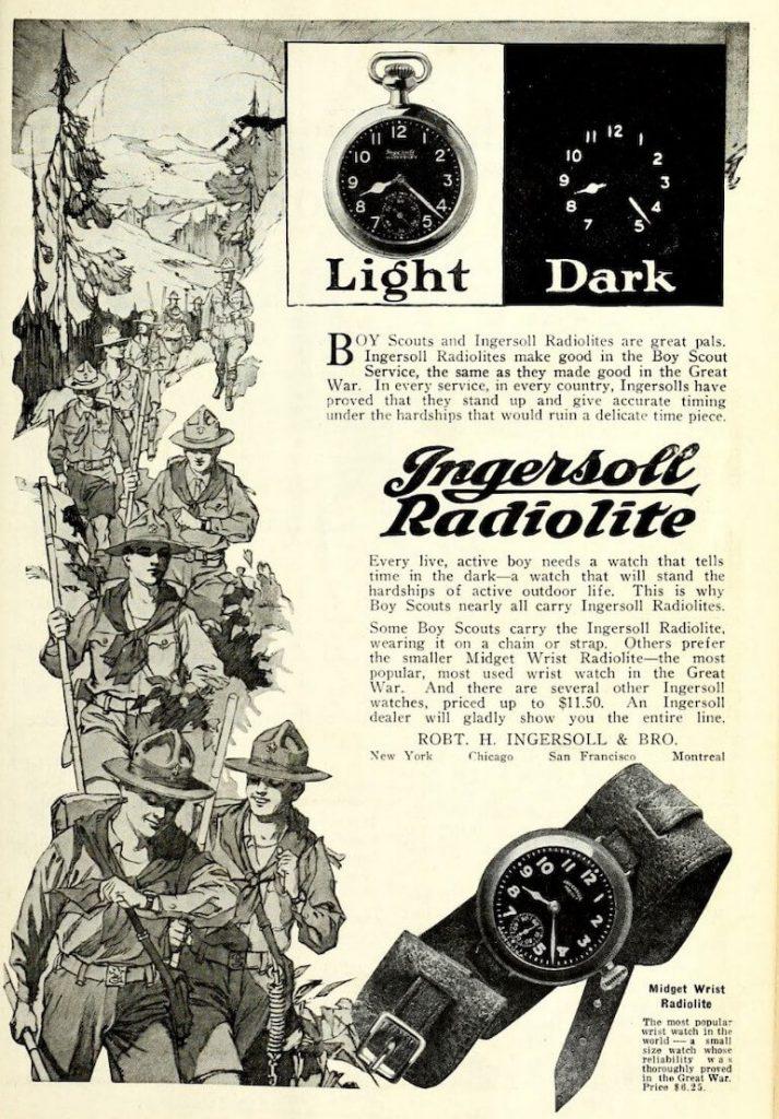 klassiska armbandsur ingersoll