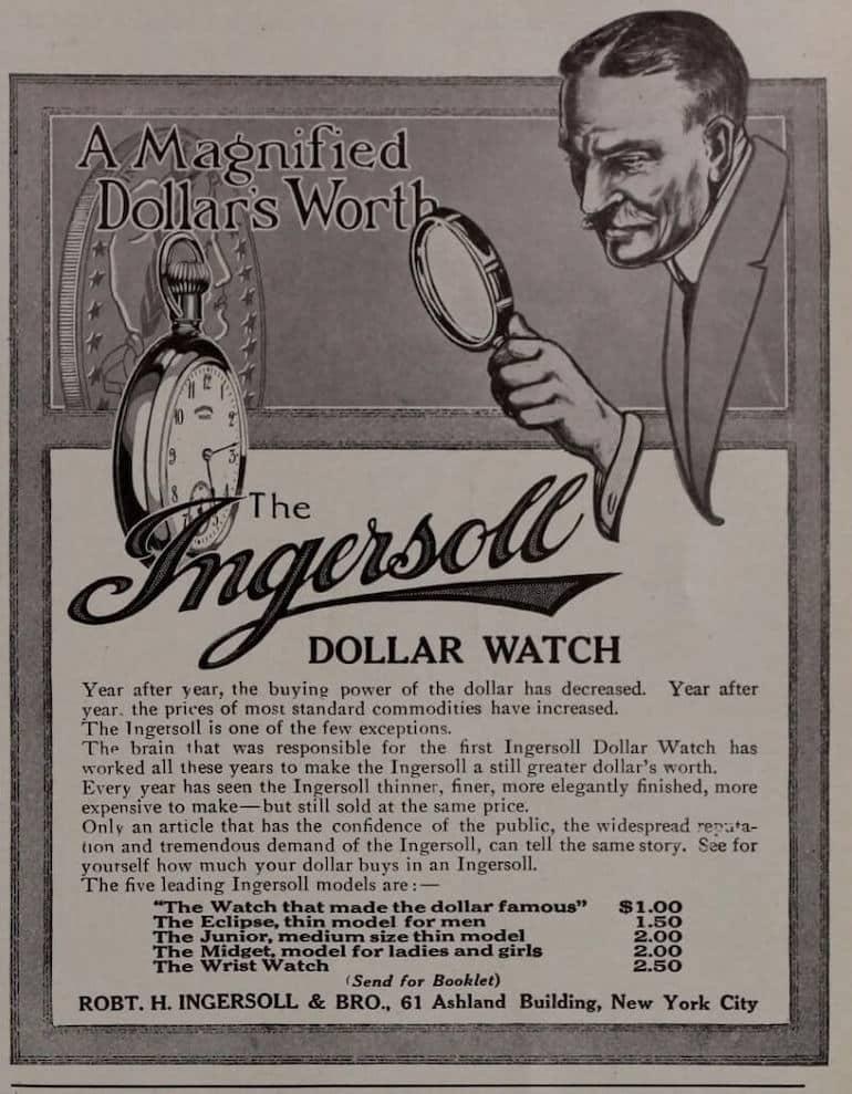 ingersoll dollar watch