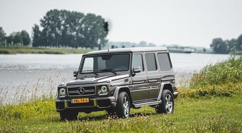 kändisars bilar mercedes g-wagon