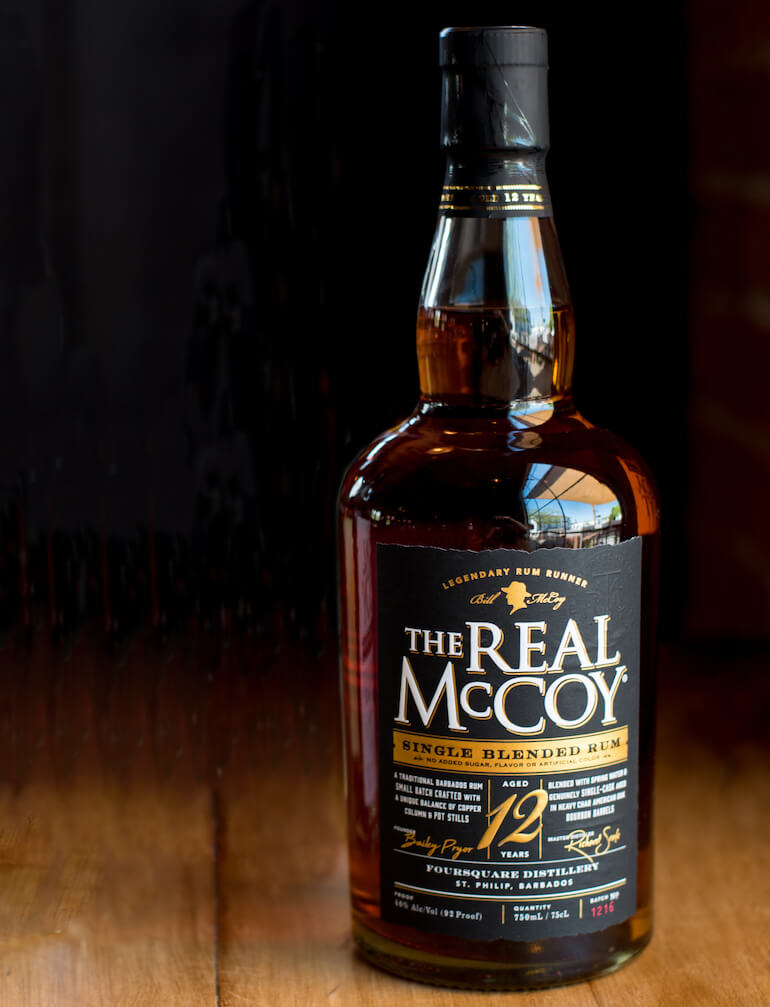 the real McCoy whisky Barbados