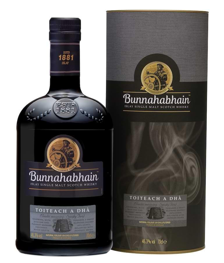 ny rökig whisky i sverige Bunnahabhain Toiteach A Dhà