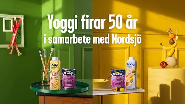 Yoggi 50 år färgkollektion nordsjö