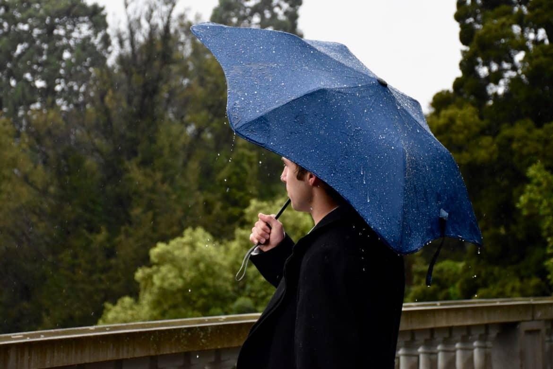 hur man klär sig snyggt i regnväder
