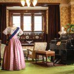 Kungligt 1800-talsmode på Tjolöholms Slott