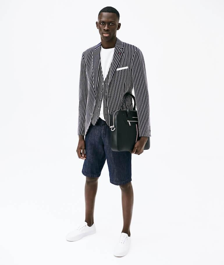 mode för män 2021 lardini Tommy Hilfiger