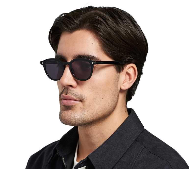 stilregler för män val av glasögonbågar