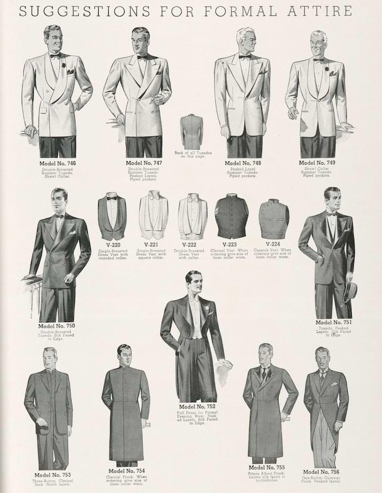 formell stil 1940-tal