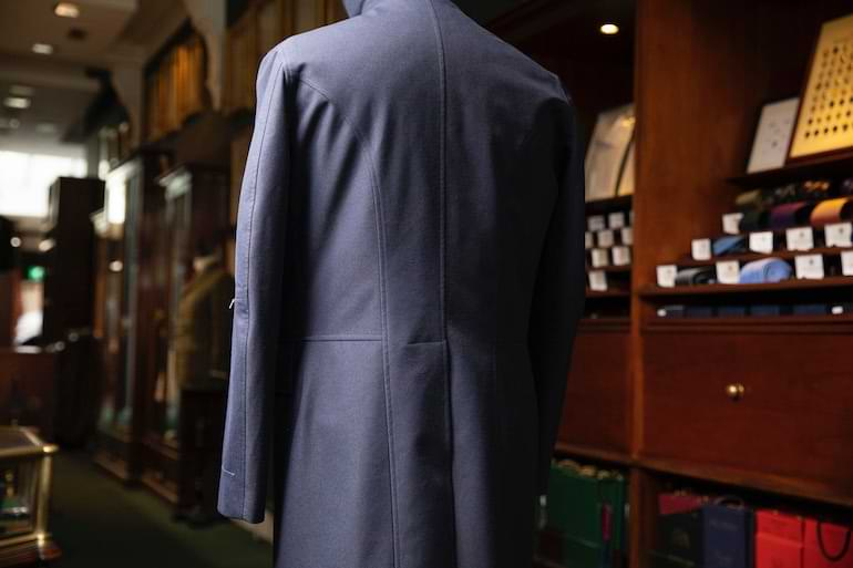 the travel trench Henry Poole gore-tex collaboration