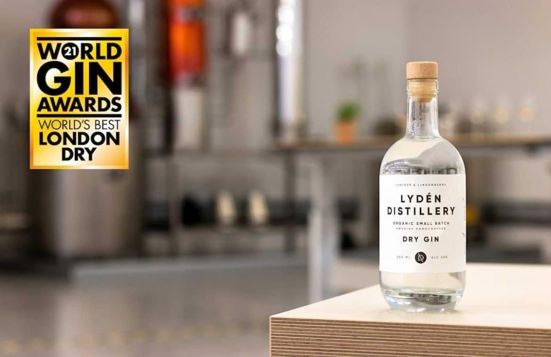 lydén distillery worlds best london dry gin