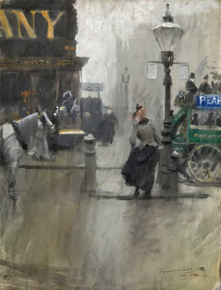 Zorn målning paris
