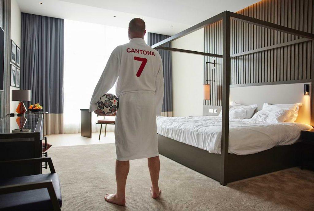 Eric Cantona hotellsviter champions league final 2021