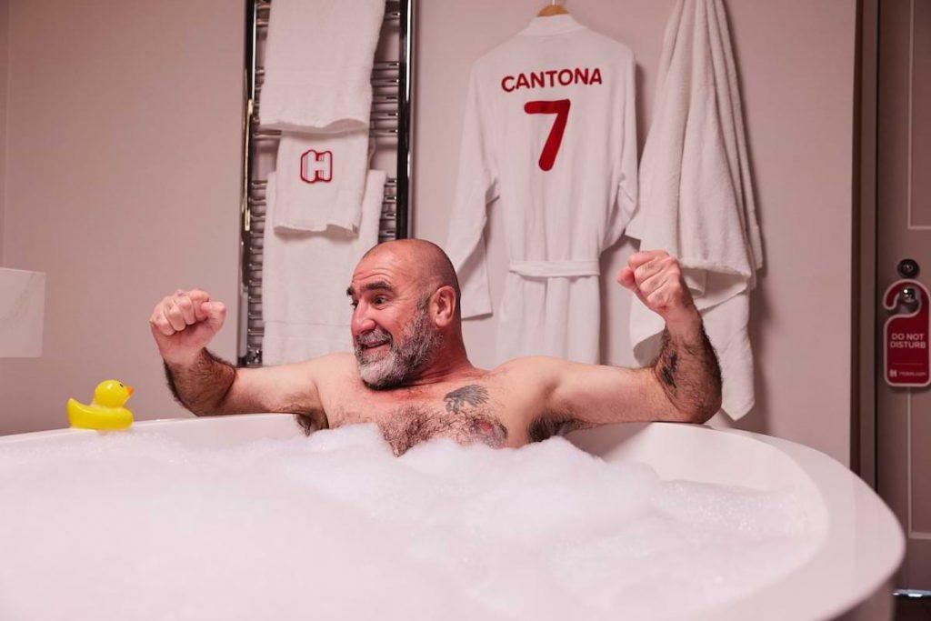 hotels.com Eric Cantona collaboration 2021