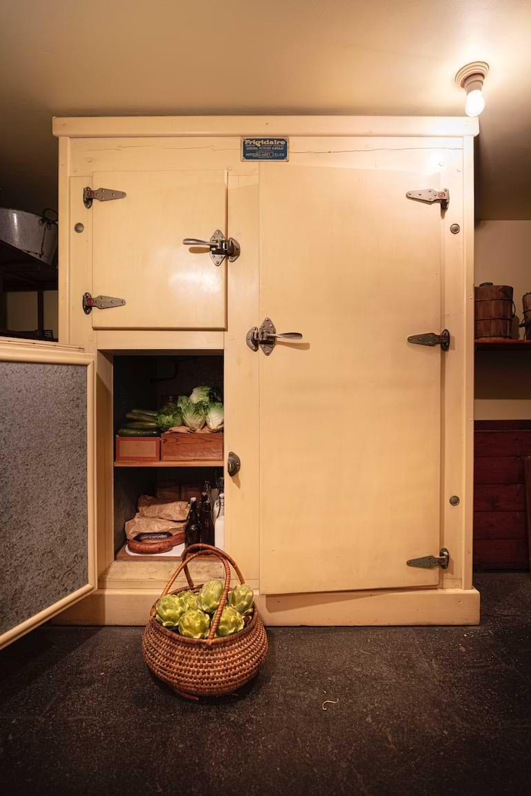 kylskåp Hallwylska palatset