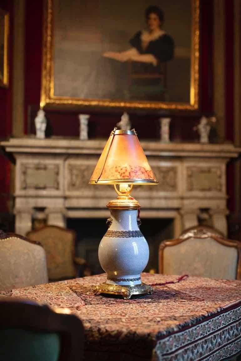 lampa hos Hallwylska museet