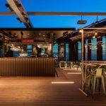 Sjöstaden Skybar har öppnat - Bjuder på exceptionell utsikt över Stockholm