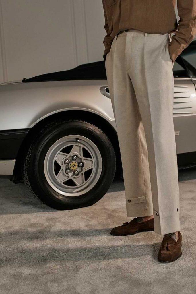 stilrena byxor för män vår sommar 2021