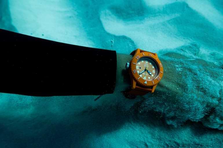 triwa time for sub oceans ny klocka 2021