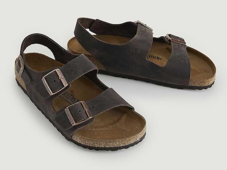 herrmode vår/sommar 2021 snygga sandaler