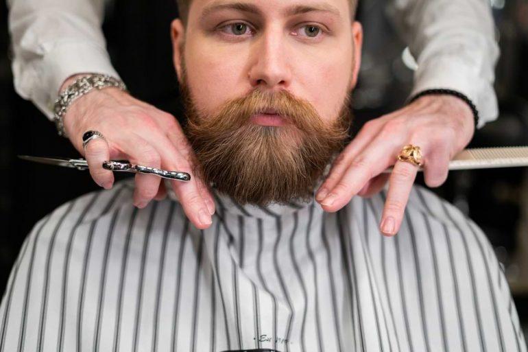 högkvalitativa skäggtrimmare