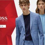 Sommarrea på exklusiva herrplagg hos Hugo Boss