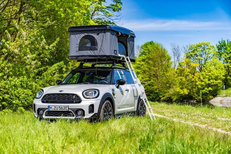mini campingbilar elbil 2021