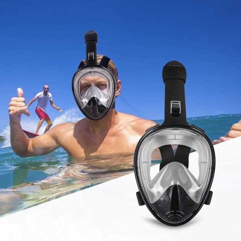 bästa prylar sommaren 2021 snorkelmask