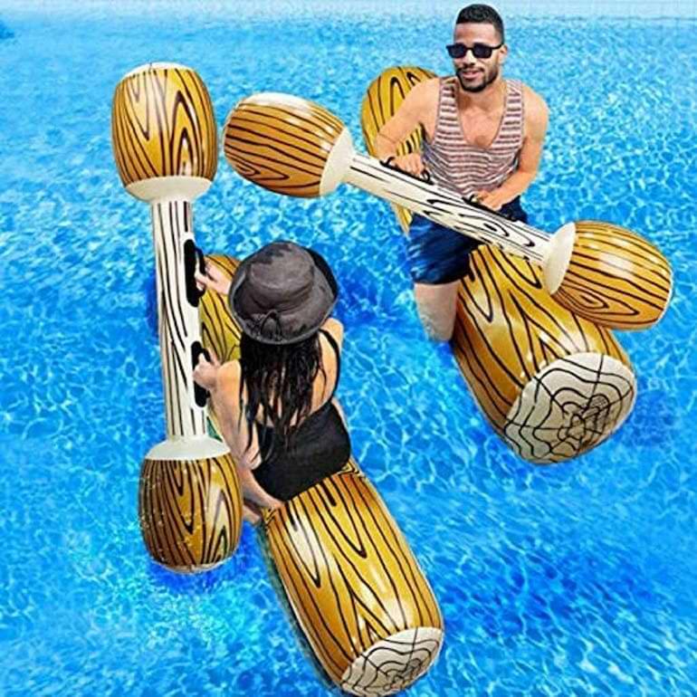 uppblåsbar flotte bästa strandprylar sommaren 2021