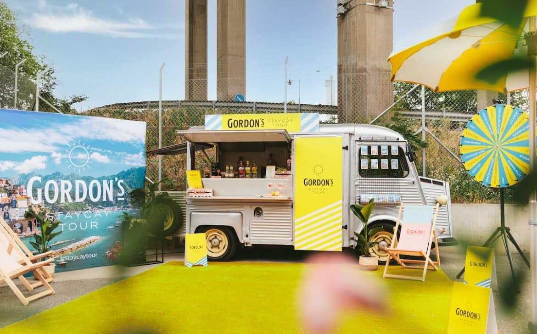 gordon's gin tour sommaren 2021