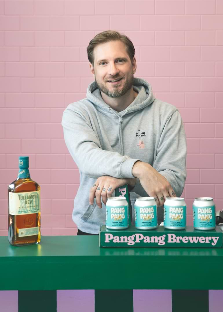 fredrik tunedal bryggmästare och grundare pang pang brewery