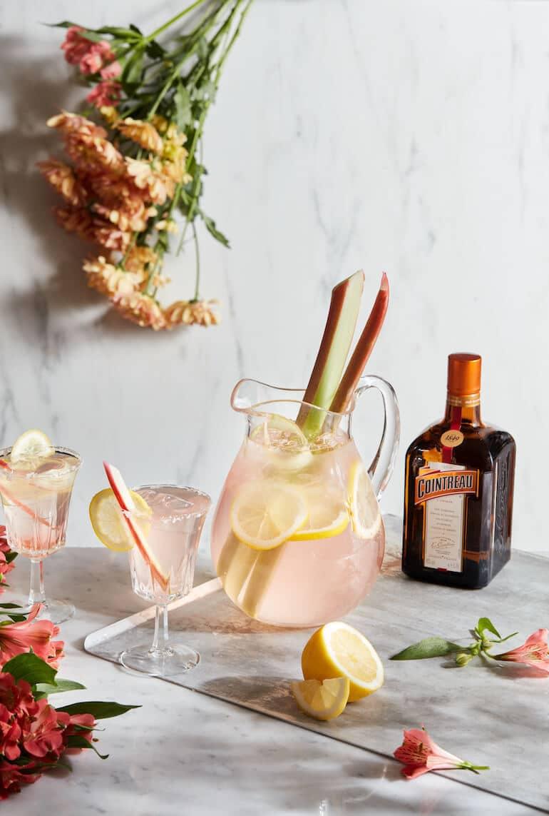 bästa drinkar sommaren 2021 rabarber margarita
