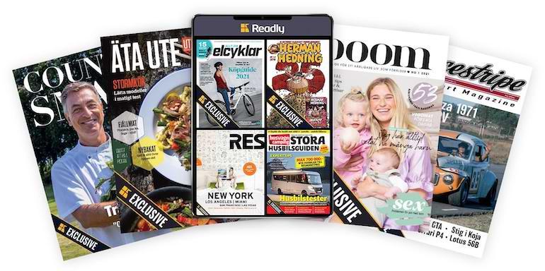 bästa magasin online