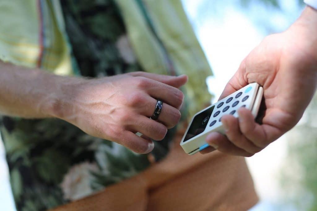 smarta ringar med betalfunktion