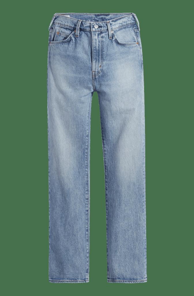 jeans med hög midja hösten 2021