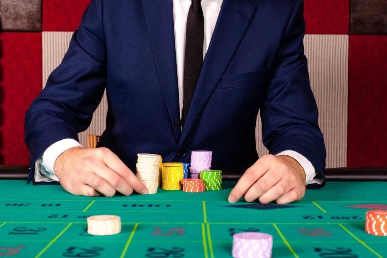 etikett klädsel på ett kasino