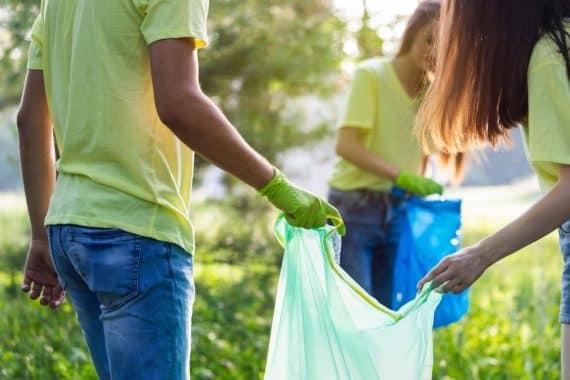 frivillig städning av naturen i stockholm